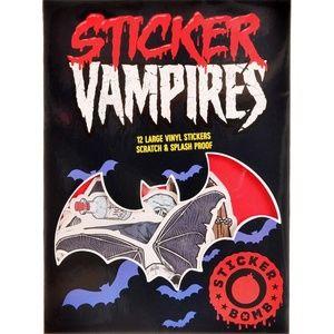 Vampires Sticker Bomb Decals - Pack of 12